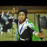 【鬼滅の刃】悲鳴嶼行冥の日輪刀の作り方 Kimetsu no Yaiba Himejima's Nichirin Blade Tutorial