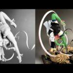 【鬼滅の刃】甘露寺蜜璃のフィギュアを作ってみた完全版【clay figure/粘土】Demon Slayer:Kimetsu no Yaiba Kanroji-Mitsuri