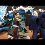 鬼滅の刃 Demon Slayer tanjiro 炭治郎 vs demon